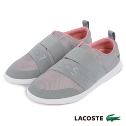 LACOSTE 女用休閒鞋-灰