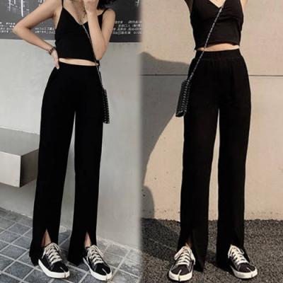 【韓國K.W.】(預購)搶鮮購完美長度寬褲-1色