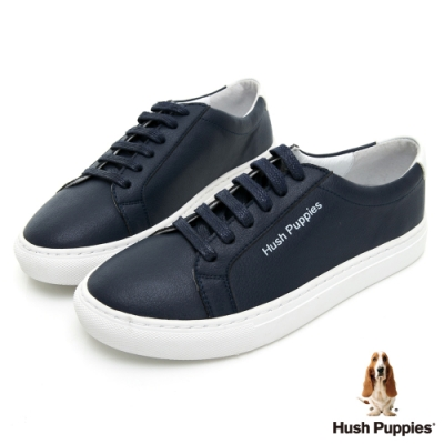 Hush Puppies Serendipity 綁帶女休閒鞋-藍色