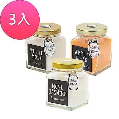 (時時樂)日本John s Blend 居家芳香膏-135g*3入(多款可選)