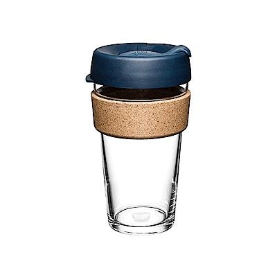 澳洲KeepCup隨身杯 軟木系列454ml/L-優雅藍(快)