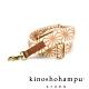 kinoshohampu 日本貴族和柄背帶 麻葉駝 product thumbnail 1