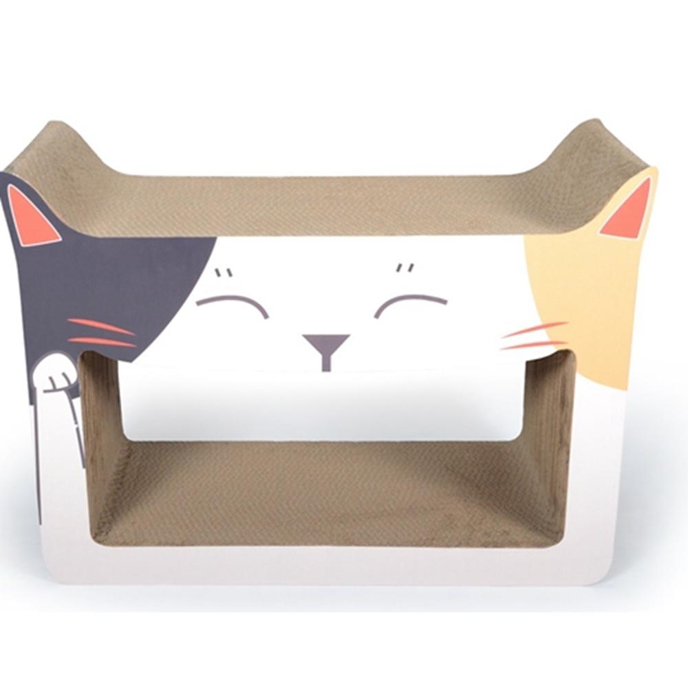 ROCK CATS招財貓造型貓抓板