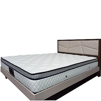 Albert 艾柏 正三線防蹣透氣6尺雙人加大獨立筒床墊-180x188x25.5cm免組