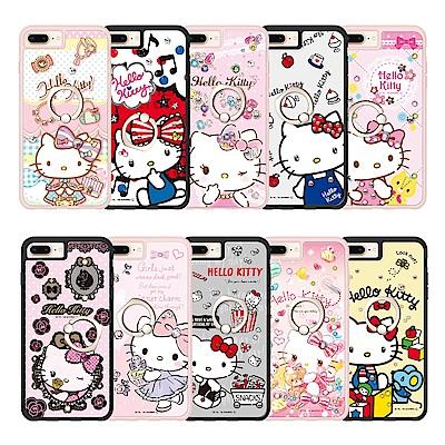 三麗鷗 Kitty iPhone系列施華彩鑽減震指環扣手機殼