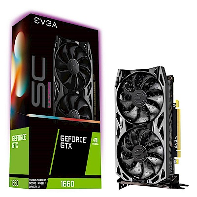 艾維克EVGA GTX 1660 SC ULTRA BP GAMING GDDR5 顯示卡