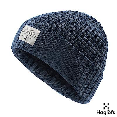 Haglofs Lava 羊毛保暖帽 塔恩藍色