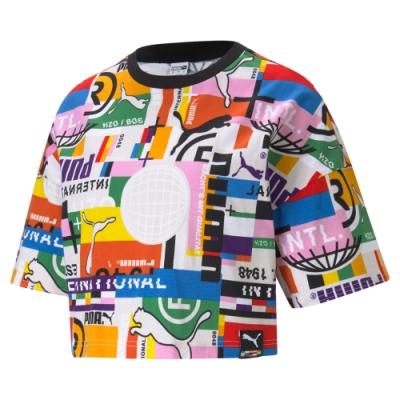 【PUMA官方旗艦】流行系列PI印花短袖T恤 女性 53074002