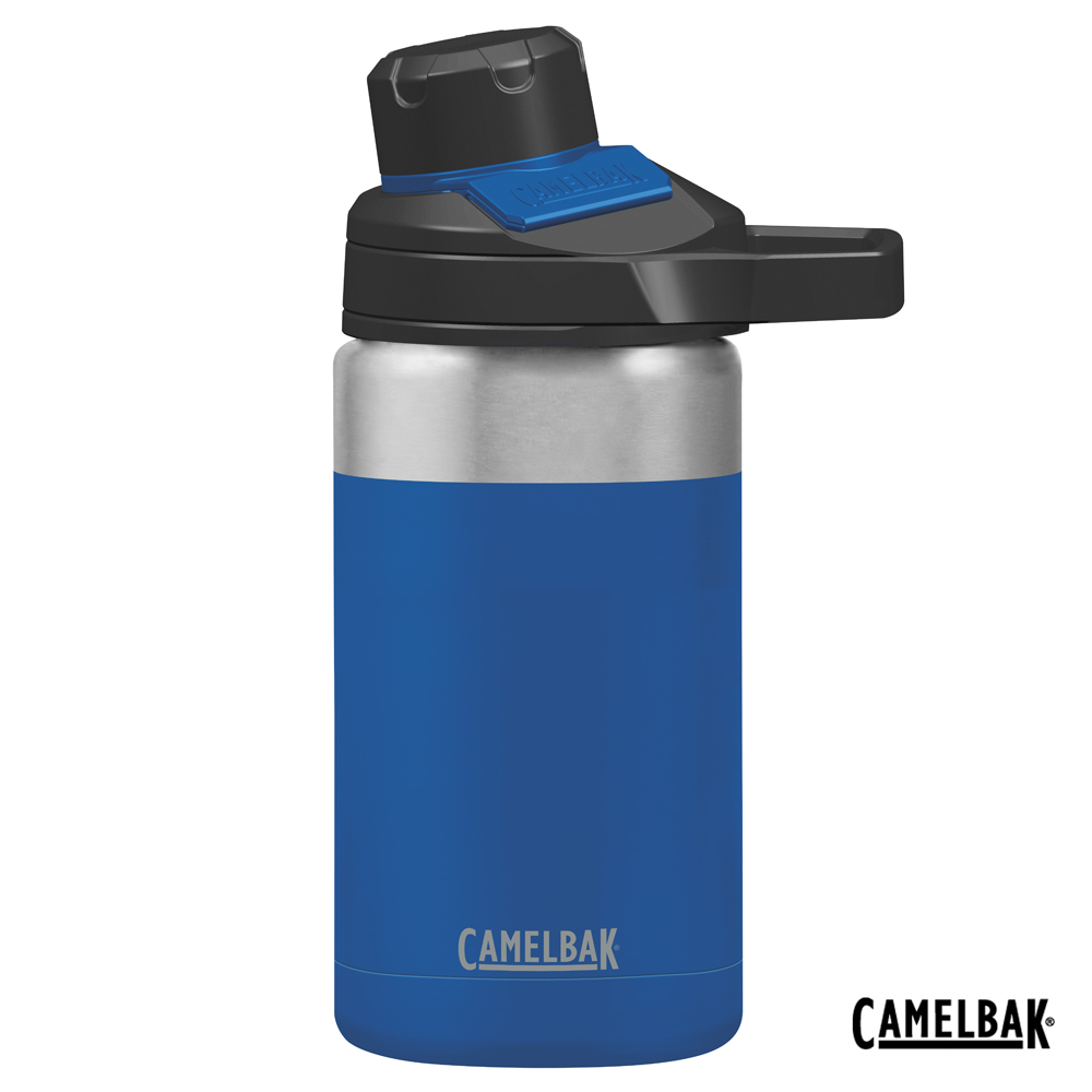【美國 CamelBak】350ml Chute Mag戶外運動保冰/溫水瓶 海洋藍