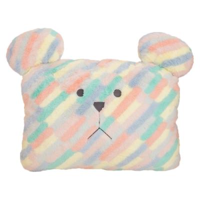 CRAFTHOLIC 宇宙人 彩色斜紋熊大靠枕
