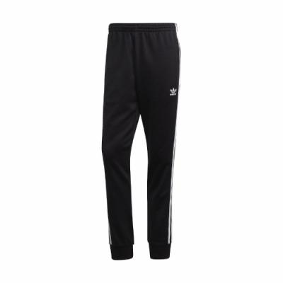 adidas 長褲 SST Track Pants 運動休閒 男款 愛迪達 三線 三葉草 口袋 基本款 黑 白 GF0210