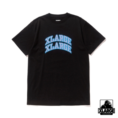 XLARGE S/S TEE XLXL短袖T恤-黑