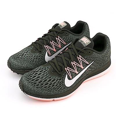 NIKE ZOOM WINFLO 5 女慢跑鞋 AA7414004 黑