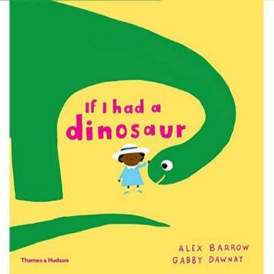 If I Had A Dinosaur 如果我的寵物是恐龍精裝繪本