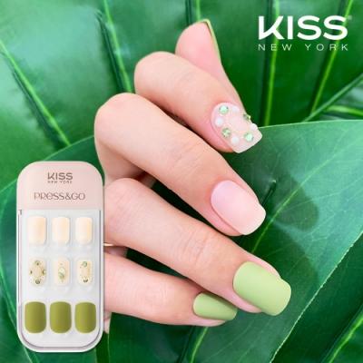 KISS New York-Press&Go頂級光療指甲貼片(少女的幻想 KPNA33KA)