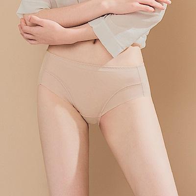 無痕透氣超健康竹炭包臀中腰M-XL內褲 巴黎米紗 可蘭霓Clany