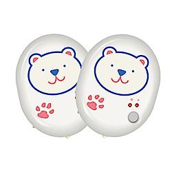 (2入組)勳風 熊熊不冷/懷爐/暖暖寶/電暖蛋(HF-863) LED照明