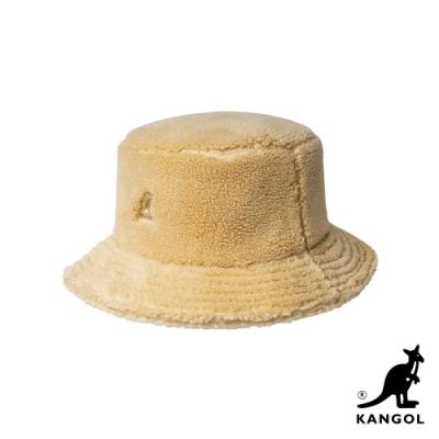 KANGOL-PLUSH 漁夫帽-米色