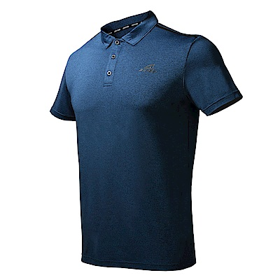 【ZEPRO】男子簡約運動休閒POLO上衣-深藍