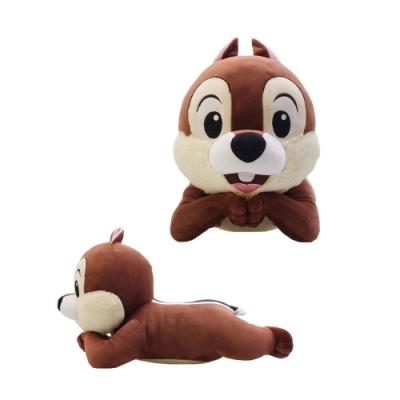 野獸國 迪士尼 50cm 玩偶 微笑托腮 趴姿(共兩款)