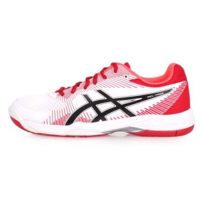 ASICS GEL-TASK 男排羽球鞋-羽球 排球 白紅黑