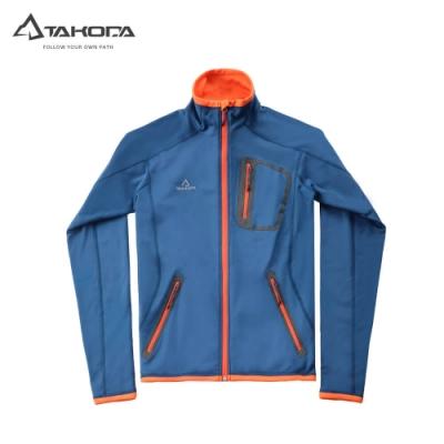 TAKODA 中層刷毛輕薄透氣外套 男款(藍色)