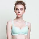 黛安芬-Home Bra-紓壓無鋼圈系列 B-D罩杯內衣 法式粉藍
