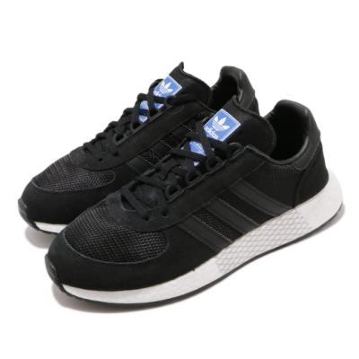 adidas 休閒鞋 Marathon Tech 運動休閒 男女鞋 愛迪達 三葉草 慢跑 緩震 情侶鞋 黑 白 G27463