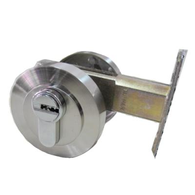 守門員系列 D001 單開輔助鎖 卡霸鑰匙 60mm 銀色 補助鎖 房門鎖