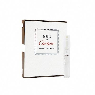 Cartier 卡地亞 木香之水 中性淡香水 針管小香 1.5ml