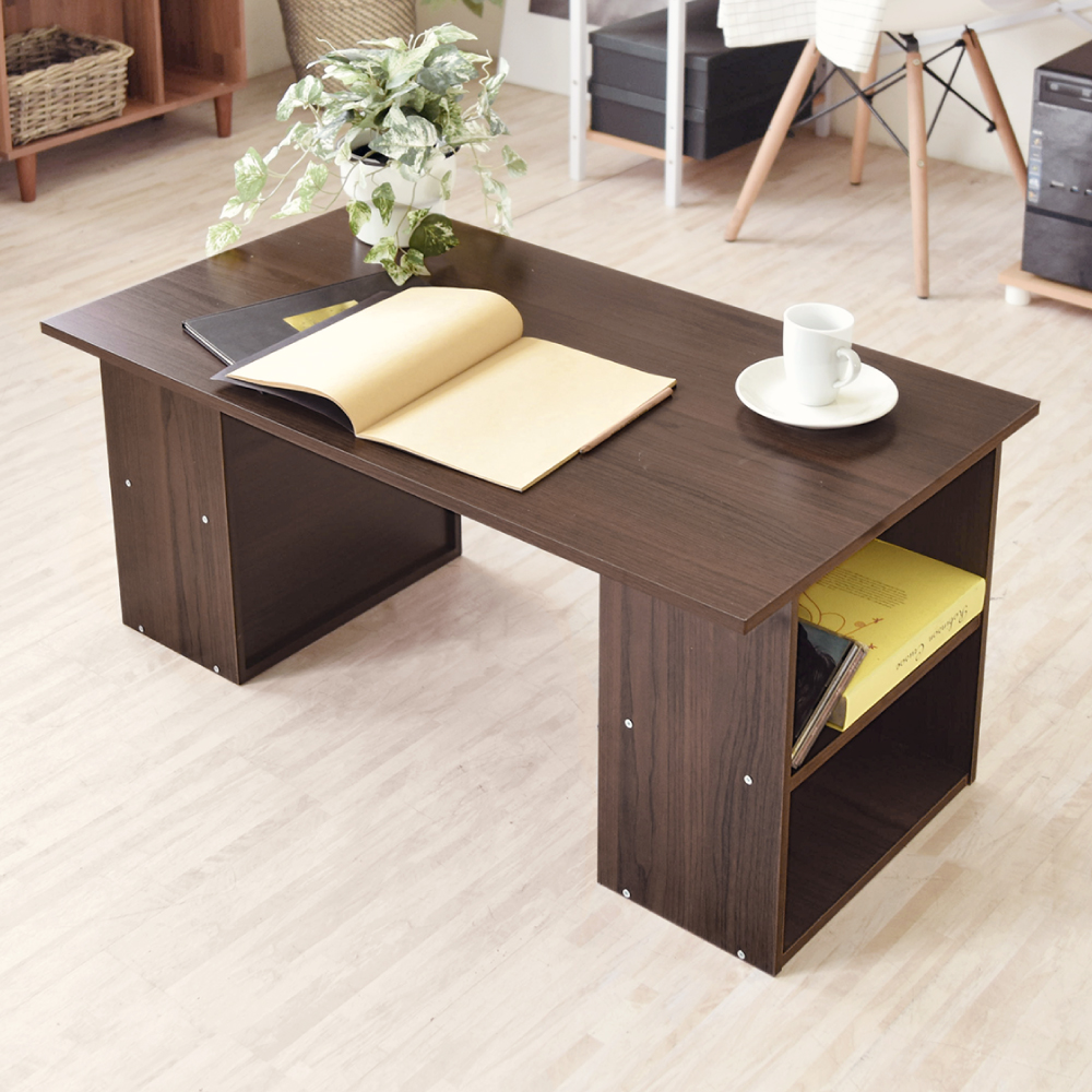《HOPMA》DIY巧收和室書桌-寬90 x深50 x高41cm