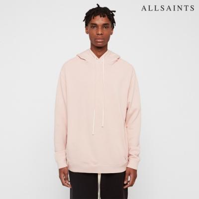 ALLSAINTS AVIO 純棉休閒滑板連帽長袖T恤