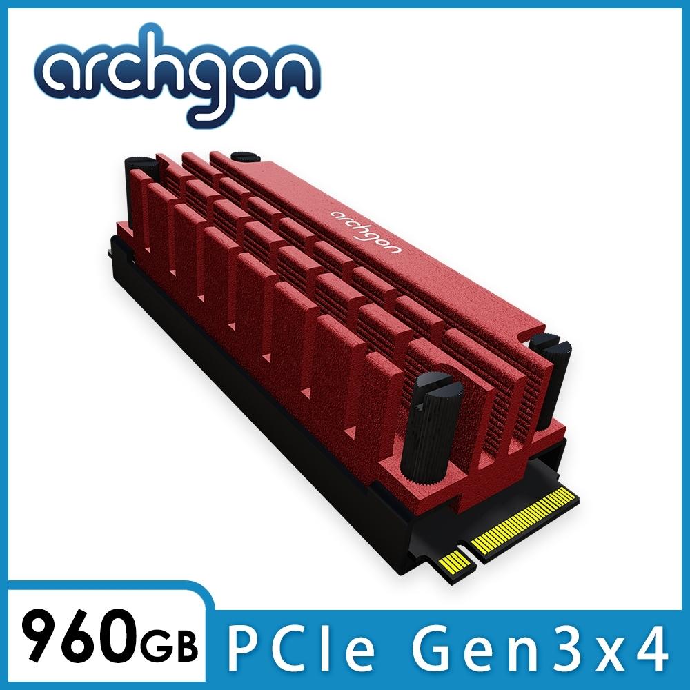 archgon散熱片組(內含SSD)M.2 2280 SSD(HS-1110-R-960)