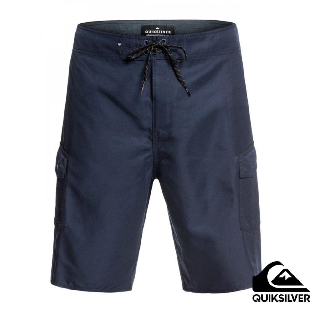 【Quiksilver】MANIC SOLID 21 衝浪褲 深藍