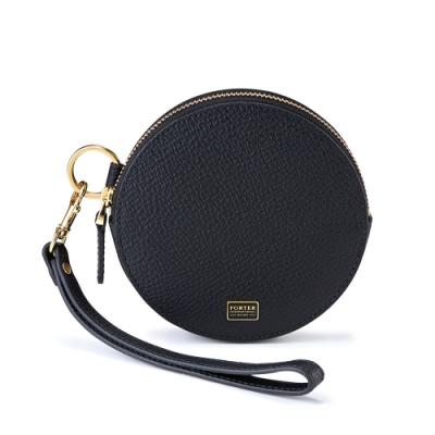 PORTER - 自信魅力REGAL圓形頸掛小袋零錢包 - 黑