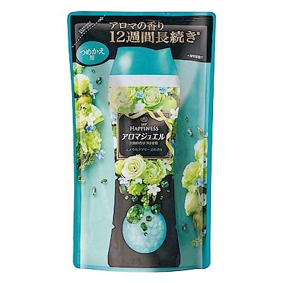 日本No.1 Lenor蘭諾衣物芳香豆(香香豆) - 清晨草木455ml補充包