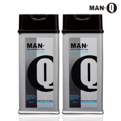 MAN-Q S3胺基酸修護全效潔淨露x2入(350ml)