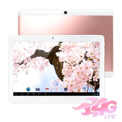 IS愛思 奇蹟覺醒PLUS 玫瑰金 10.1吋八核心LTE平板電腦 (4G/64G)