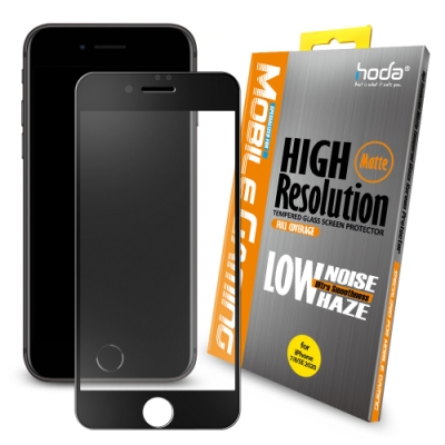 hoda iPhone 7/8/SE 2020 4.7吋 手遊專用2.5D滿版低噪點霧面玻璃保護貼