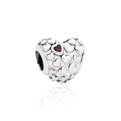 Pandora 潘朵拉 偉大的愛鑲鋯  純銀墜飾 串珠