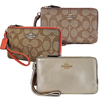 COACH 經典款雙層手拿包均一特價 1650