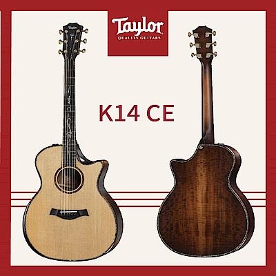 【Taylor】K14ce 電木吉他/贈原廠背帶+超值配件包 / 公司貨保固