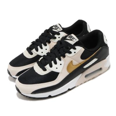 Nike 休閒鞋 Air Max 90 運動 女鞋 經典款 氣墊 舒適 簡約 球鞋 穿搭 黑 金 DB9578001