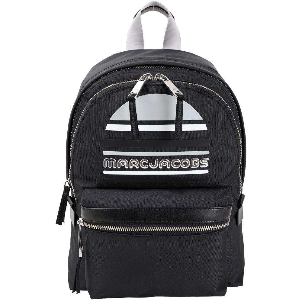MARC JACOBS Trek Pack Sport 大款 輕質高性能尼龍後背包(黑色)