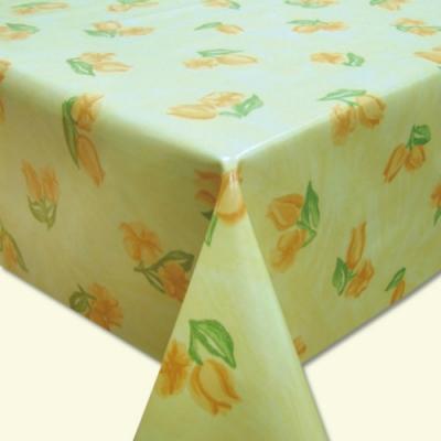 棉花田 風中花 PVC防水貼合桌巾(130x130cm)