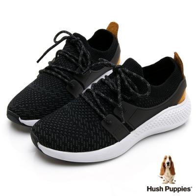 Hush Puppies Sockletweaver 女健步鞋-黑