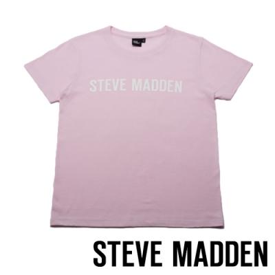 STEVE MADDEN-時尚品牌LOGO T-Shirt-粉色