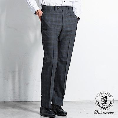 BARONECE 商務紳士格紋西褲(518103-04)