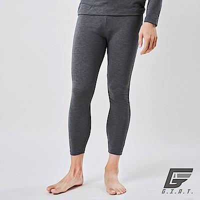 GIAT台灣製UP6度C蓄熱機能保暖褲(男/深灰)