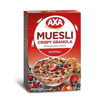 699免運 瑞典AXA 藍莓草莓穀物麥片 270g